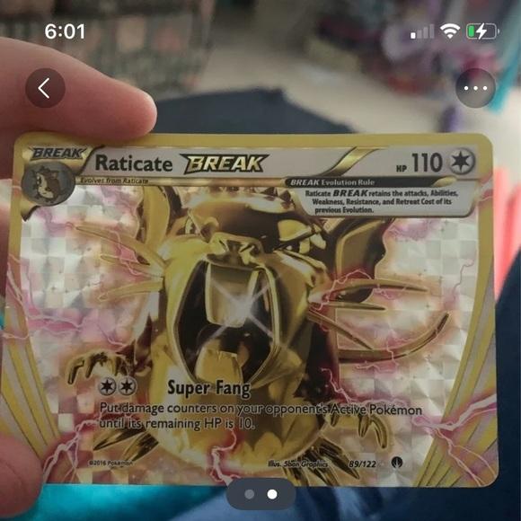 Pokémon breaks